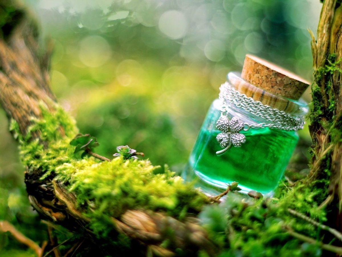 Potje met groen