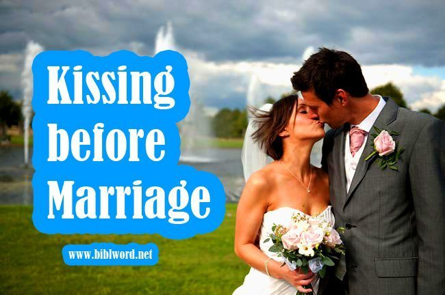 Kissing before marriage