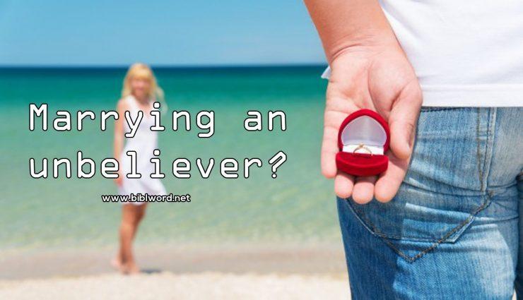 marrying an unbeliever
