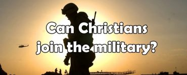 christian in military