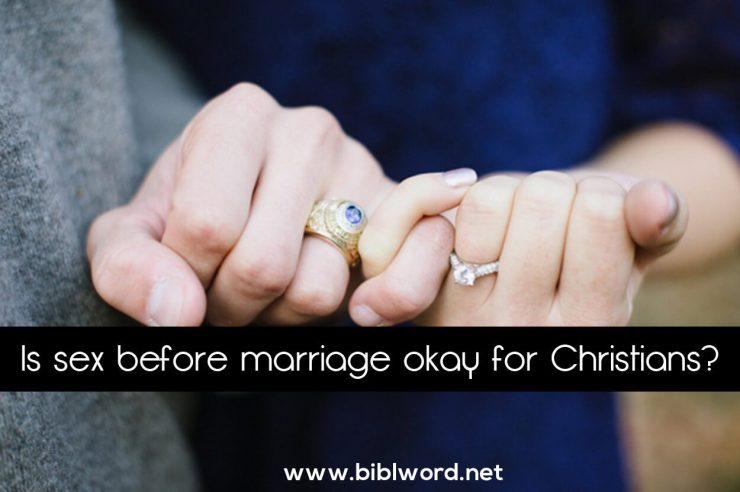 Sex before marriage is a sin