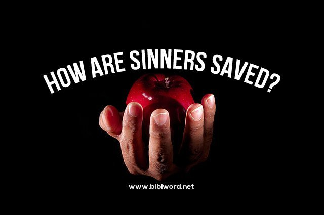 Sinners saved by jesus