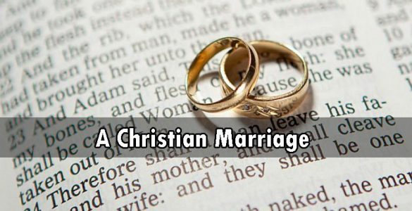 A Christian Marriage