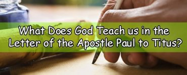 Letter of the Apostle Paul to Titus