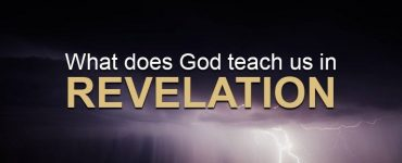 What does God teach us in Revelation?