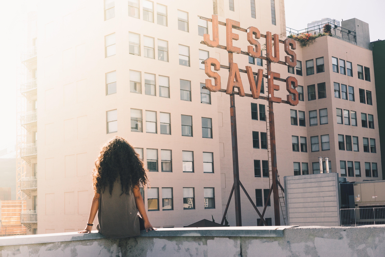 Advert Jesus saves