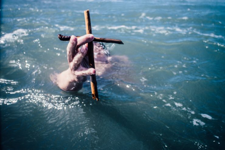 drown cross