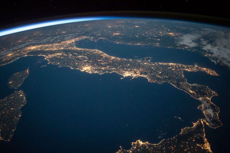 Satelite image