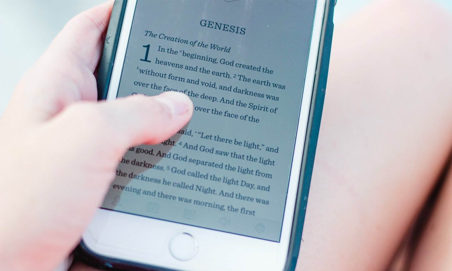 What is in the book of Genesis?