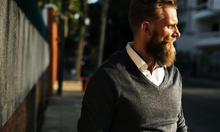 Untrimmed beard