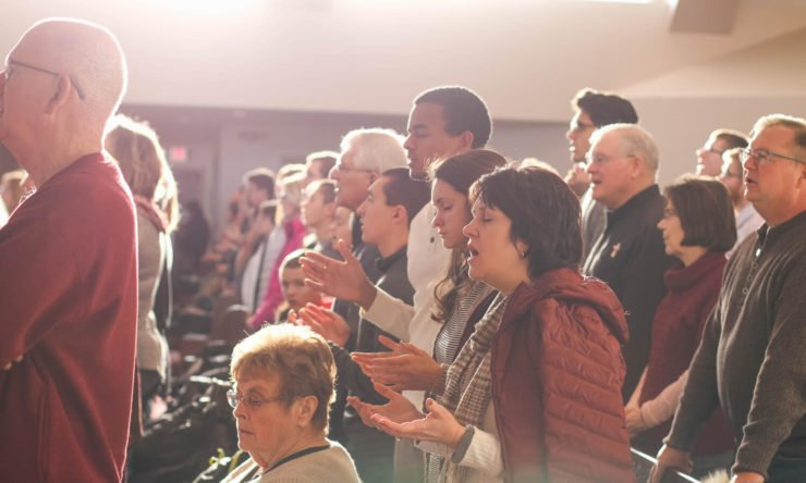 What happens in a church service