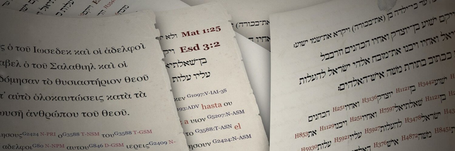 In which language was the Bible first written?