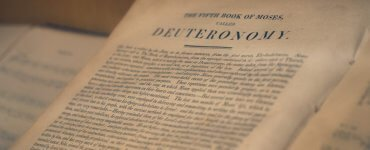 What does God teach us in the book of Deuteronomy?