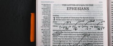 What does God teach us in the letter to the Ephesians?