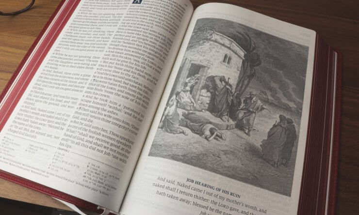 What does God teach us in the book of Job?