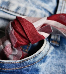 knot in handkerchief to remember or recall things