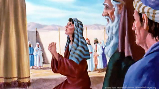 Hannah-kneeling-in-the-temple-and-pleads-to-god