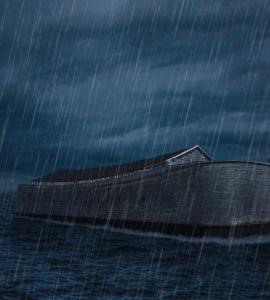 noahs-ark-floating-on-sea
